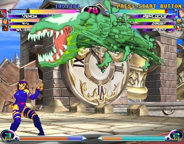 Marvel VS Capcom 2 New Age of Heroes Capcom Virgin Interactive Arcade Dreamcast PS2 Xbox Xtreme Retro 4