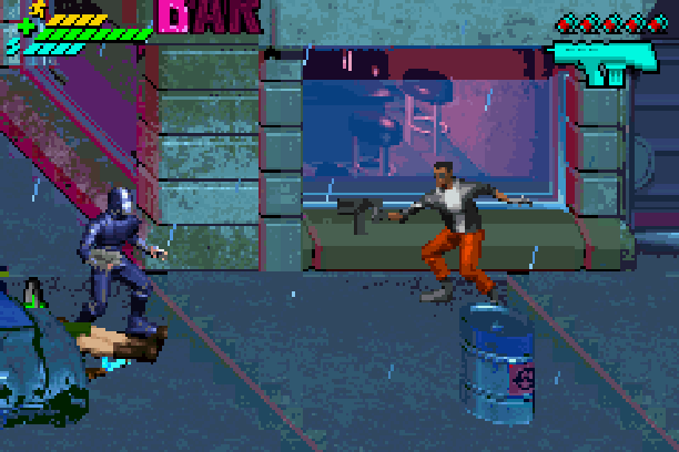 Minority Report Everybody Runs Activision Beat em up Game Boy Advance GBA Xtreme Retro 1
