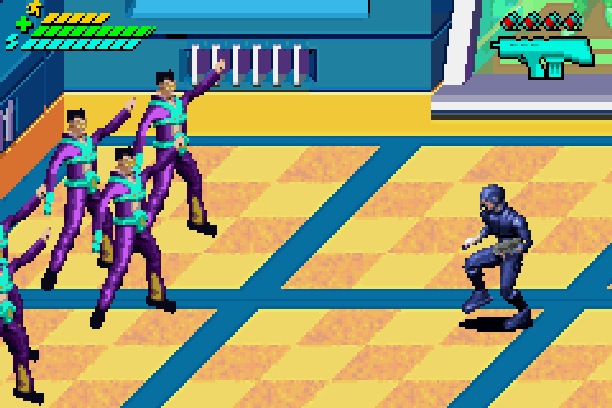 Minority Report Everybody Runs Activision Beat em up Game Boy Advance GBA Xtreme Retro 3