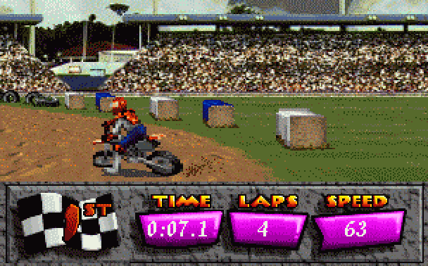 Motocross Championship Artech Studios Sega 32X Racing Xtreme Retro 3