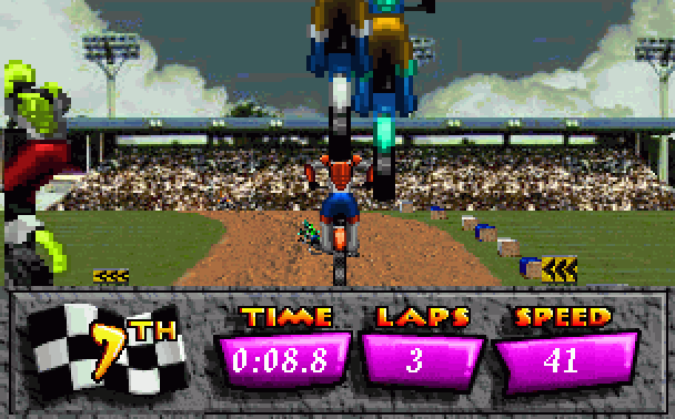 Motocross Championship Artech Studios Sega 32X Racing Xtreme Retro 4
