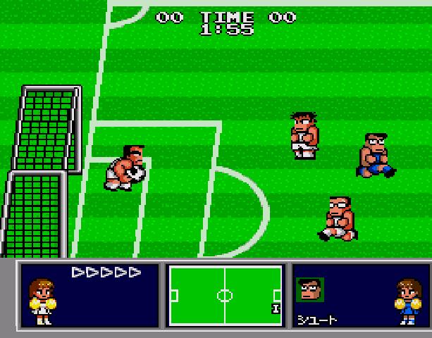 Nekketsu Koukou Dodgeball Bu - Soccer Hen - Sega Genesis Mega Drive PC Engine Turbografx - Xtreme Retro 4