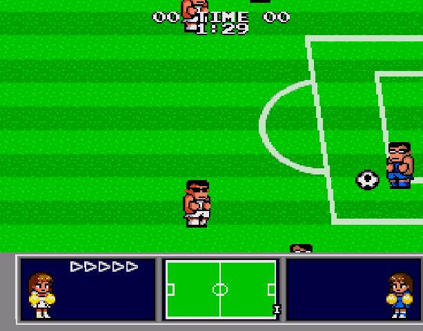 Nekketsu Koukou Dodgeball Bu - Soccer Hen - Sega Genesis Mega Drive PC Engine Turbografx - Xtreme Retro 5