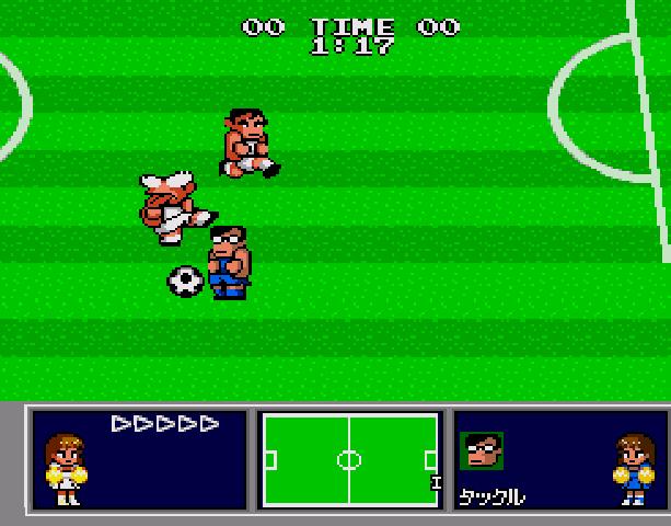Nekketsu Koukou Dodgeball Bu - Soccer Hen - Sega Genesis Mega Drive PC Engine Turbografx - Xtreme Retro 6