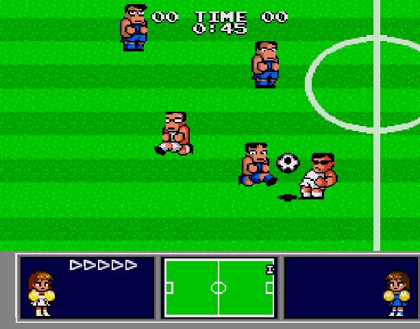 Nekketsu Koukou Dodgeball Bu - Soccer Hen - Sega Genesis Mega Drive PC Engine Turbografx - Xtreme Retro 8