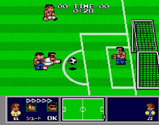 Nekketsu Koukou Dodgeball Bu - Soccer Hen - Sega Genesis Mega Drive PC Engine Turbografx - Xtreme Retro 9