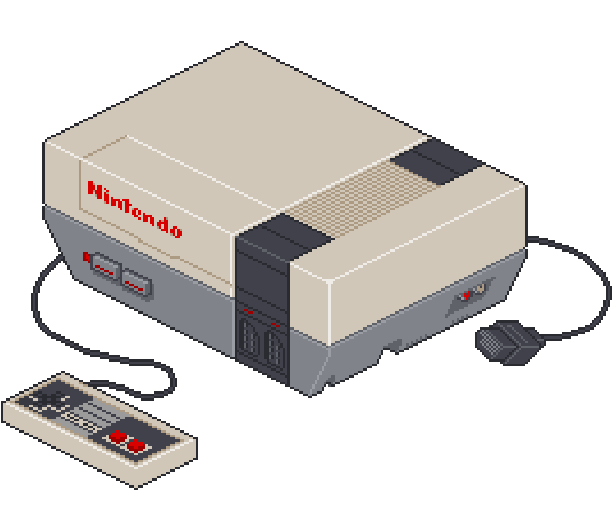 Nintendo NES Famicom 8 bits Pixel Art Xtreme Retro