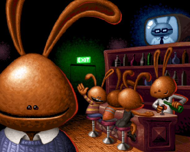 Pet in TV Sony PlayStation PSX Xtreme Retro Pixel Art