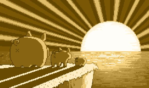 Pig Cerdito Pixel Art Xtreme Retro