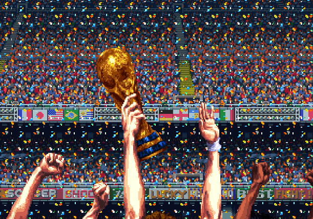 Pro Evolution Soccer PES 2008 Konami Nintendo Wii Xtreme Retro Pixel Art