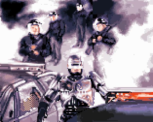 Robocop Titus PS2 PlayStation 2 Xtreme Retro Pixel Art