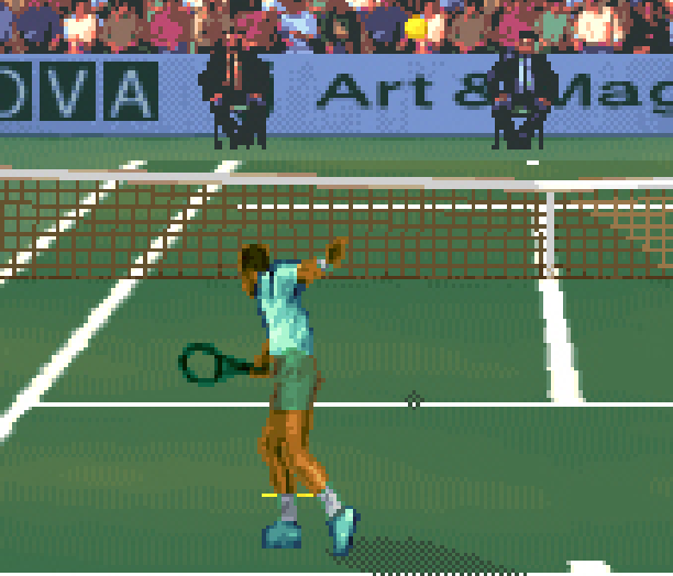 Roland Garros 2002 Next Generation Tennis Game Boy Advance GBA Xtreme Retro Pixel Art