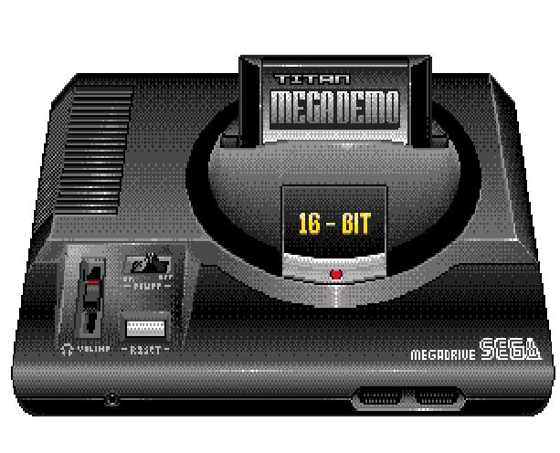 Sega Genesis Mega Drive Pixel Art Xtreme Retro 1