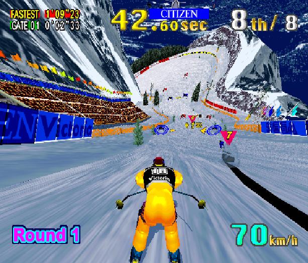Sega Ski Super G Arcade AM1 Model 2 Xtreme Retro 2