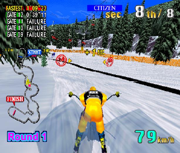 Sega Ski Super G Arcade AM1 Model 2 Xtreme Retro 3