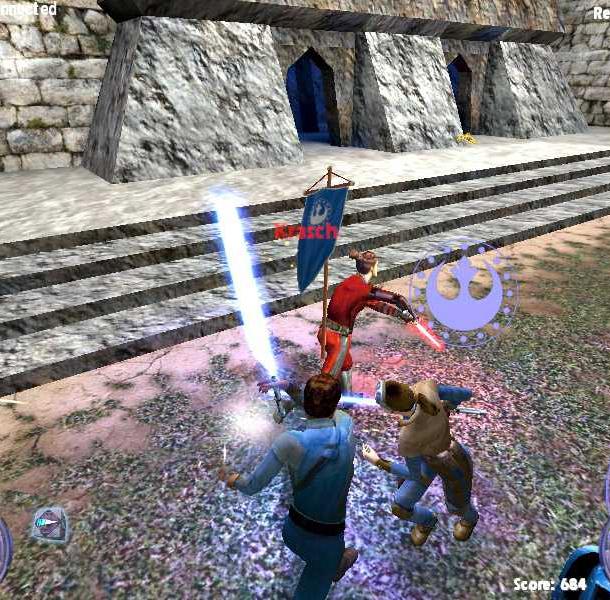 Star Wars Jedi Knight II Jedi Outcast LucasArts PC Xbox GameCube GCXtreme Retro 7