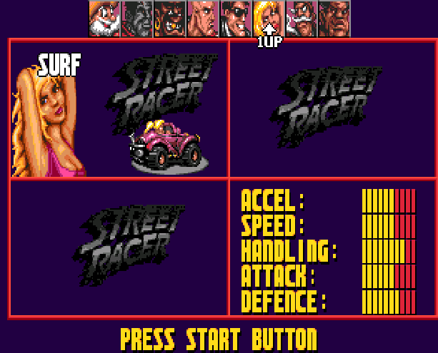 Street Racer Ubisoft Sega Genesis Mega Drive Xtreme Retro 1