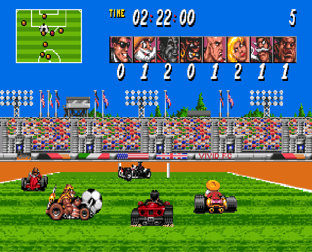 Street Racer Ubisoft Sega Genesis Mega Drive Xtreme Retro 2