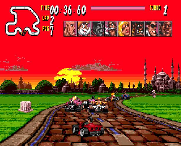 Street Racer Ubisoft Sega Genesis Mega Drive Xtreme Retro 7