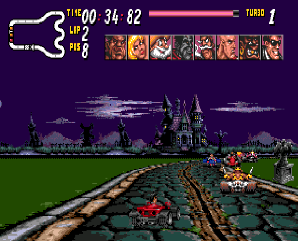 Street Racer Ubisoft Sega Genesis Mega Drive Xtreme Retro 8