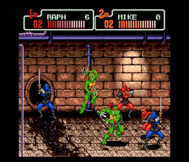 Teenage Mutant Ninja Turtles The Hyperstone Heist Sega Genesis Mega Drive Konami Xtreme Retro Raph Mickey