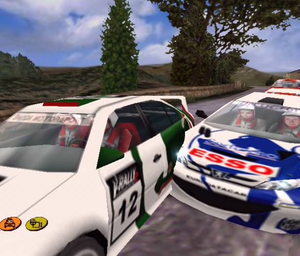 V-Rally 2 Expert Edition Infogrames PSX PlayStation PC DC Dreamcast Xtreme Retro 10