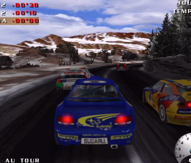 V-Rally 2 Expert Edition Infogrames PSX PlayStation PC DC Dreamcast Xtreme Retro 3