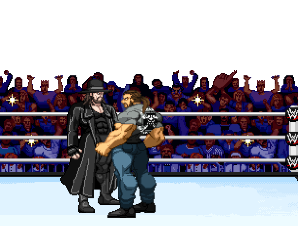 WWF Royal Rumble THQ Sega Dreamcast Xtreme Retro Pixel Art