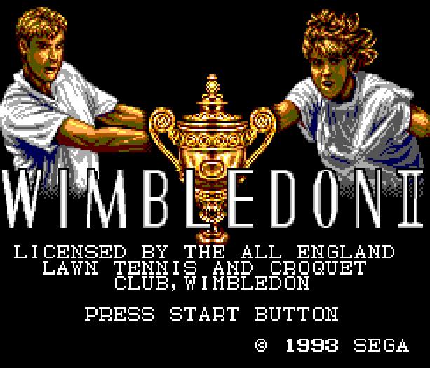 Wimbledon II Sega Master System Xtreme Retro 1