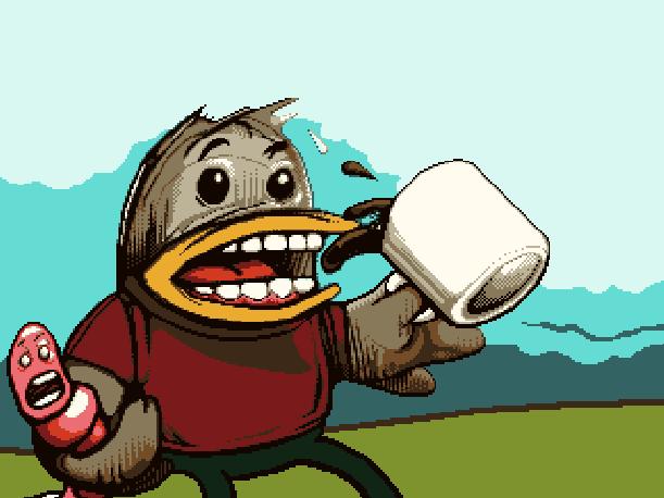 Worms Team 17 Ocean Sega Genesis Mega Drive Xtreme Retro Pixel Art