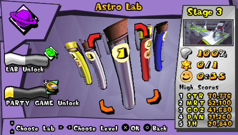 207796-mercury-meltdown-psp-screenshot-astro-lab-level-select