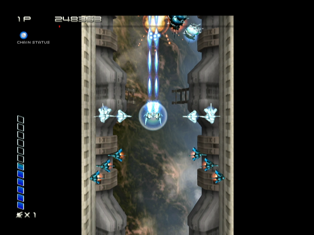 90980-ikaruga-gamecube-screenshot-enemies-attack-from-all-sides