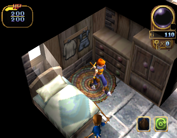 Alundra 2 A New Legend Begins SCI Activision Action RPG Sony PlayStation PSX PSOne Xtreme Retro 9
