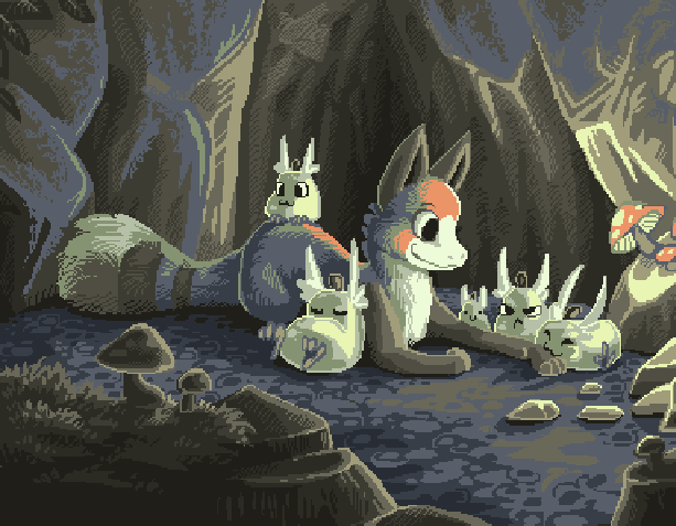 Animal Forest Dōbutsu no Mori Nintendo 64 GameCube GC Adventure Xtreme Retro Pixel Art