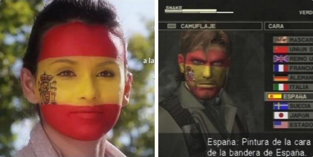 Anuncio PP Metal Gear Solid camuflaje Xtreme Retro