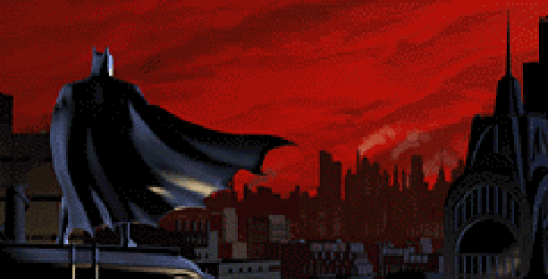 Batman Vegeance Animated Series Ubisoft DC Comics GC GameCube Xbox PS2 PlayStation 2 Xtreme Retro Pixel Art