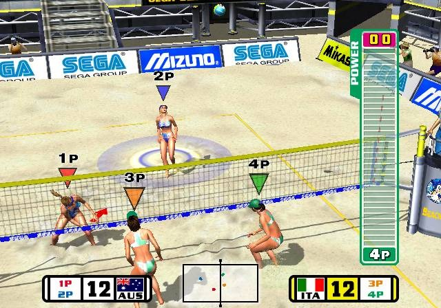 Beach Spikers Virtua Beach Volleyball Sega AM2 Arcade GameCube GC Xtreme Retro 5