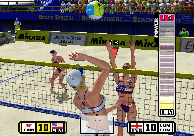 Beach Spikers Virtua Beach Volleyball Sega AM2 Arcade GameCube GC Xtreme Retro 6