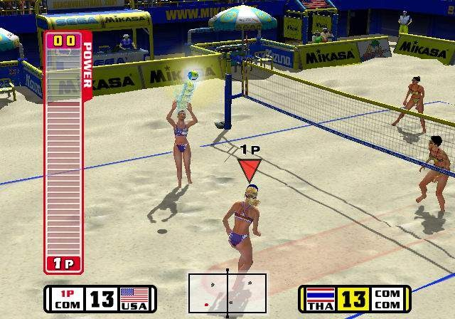 Beach Spikers Virtua Beach Volleyball Sega AM2 Arcade GameCube GC Xtreme Retro 7