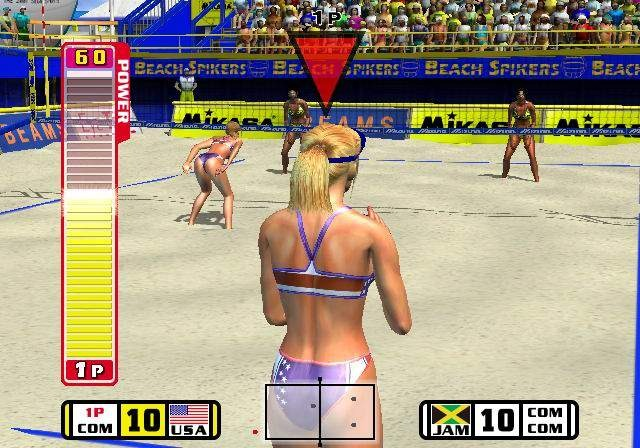 Beach Spikers Virtua Beach Volleyball Sega AM2 Arcade GameCube GC Xtreme Retro 8
