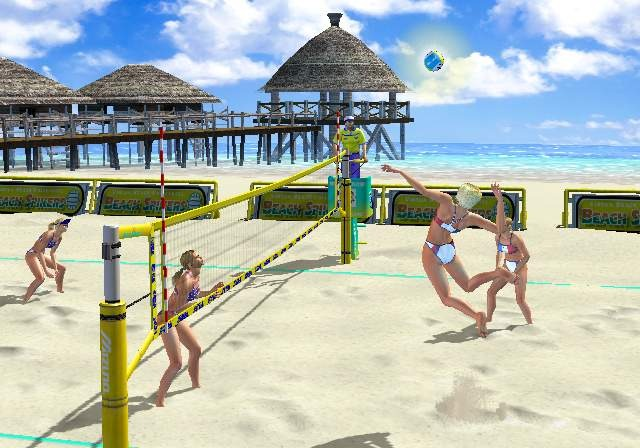 Beach Spikers Virtua Beach Volleyball Sega AM2 Arcade GameCube GC Xtreme Retro 9
