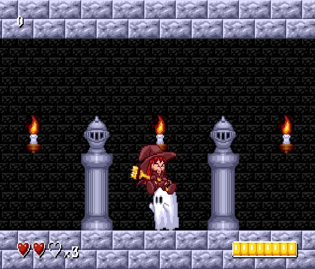 Dragons Castle Sega Genesis Mega Drive Indie Fangame Xtreme Retro 3