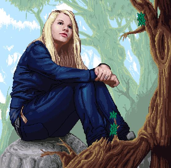 Estela Roig Marti Pixel Art Xtreme Retro