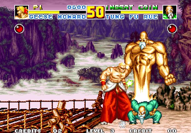 Fatal Fury Special SNK Arcade Neo Geo CD Xtreme Retro 1