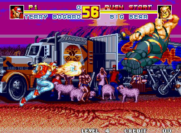 Fatal Fury Special SNK Arcade Neo Geo CD Xtreme Retro 4
