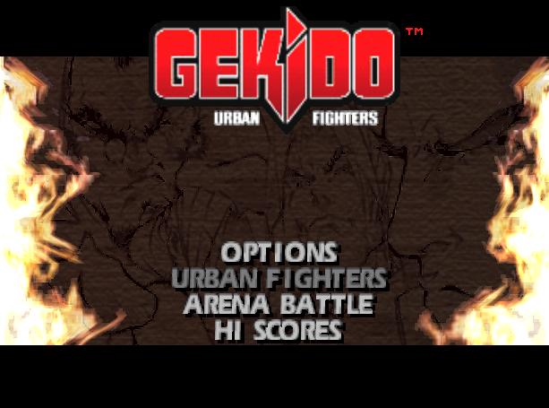 Gekido Urban Fighters Beat em up Sony PlayStation PSX PSOne Xtreme Retro 1