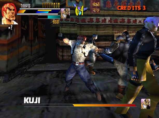 Gekido Urban Fighters Beat em up Sony PlayStation PSX PSOne Xtreme Retro 5