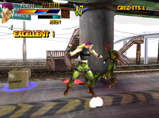 Gekido Urban Fighters Beat em up Sony PlayStation PSX PSOne Xtreme Retro 8