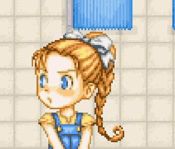 Harvest Moon Pixel Art Nintendo Xtreme Retro