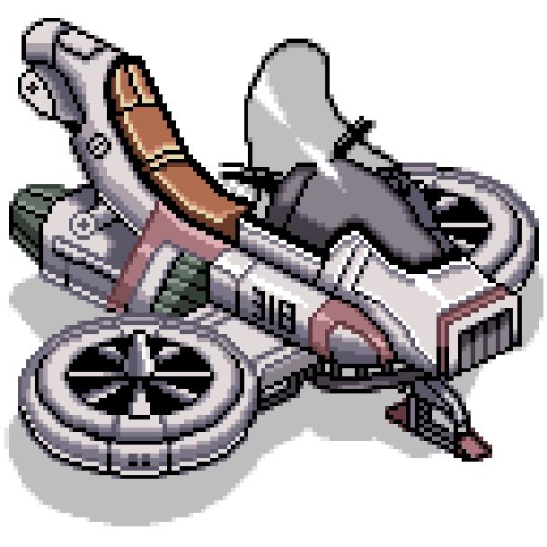 Jet Rider 2 Sony PlayStation PSX Xtreme Retro Pixel Art